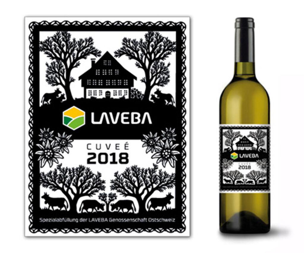 LAVEBA | Weinetikette